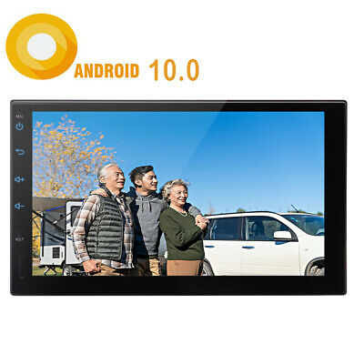 """7"""" 2Din Quad Core Android 7.1 Car Stereo MP5 Player GPS Navi Radio WiFi BT CAM"""