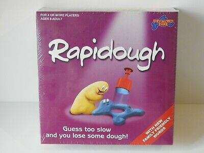Rapidough Fast Paced Charades Based Dough Modelling Game by Drumond Park