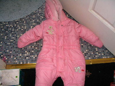 DISNEY STORE POOH GIRLS OR BOYS SNOWSUIT 3 to 6 MONTHS BRAND NEW RARE DESIGN
