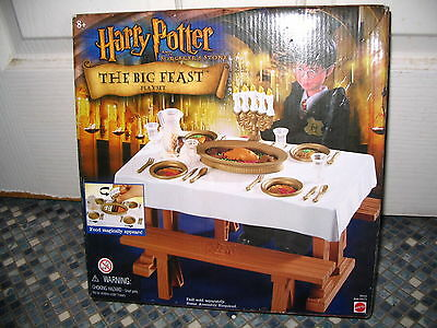 Harry Potter The Big Feast Playset Mattel Brand New Collectable Very Rare