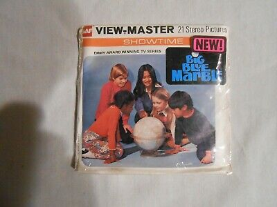 Vintage View-Master 3-Reel Set Showtime The big Blue Marble  FREE SHIPPING