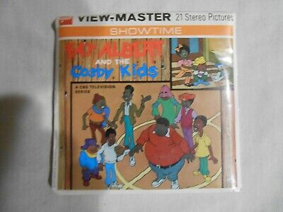 Vintage View-Master 3-Reel Set Showtime Fat Albert & Cosby Kids FREE SHIPPING