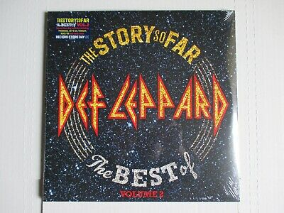 Def Leppard The Story So Far Best Of Vol. 2 Vinyl 2X Lp 2019 Rsd Sealed #2000