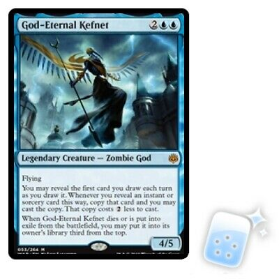 God-eternal Kefnet M/NM Magic: The Gathering MTG War Of The Spark