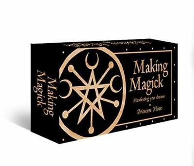 NEW Making Magick By Priestess Moon Card or Card Deck Free Shipping