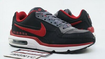 NIKE AIR MAX Ltd 3 Used Size 7.5 Dark Grey Gym Red White
