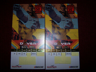 2 Tickets Gander RV 400 Monster Energy NASCAR Cup Series Dover Race Prime Seats