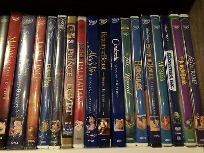 Walt Disney DVD movie collection lot of 17 - Some NIB!