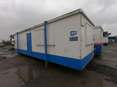 32ft x 10ft SITE OFFICE SITE CANTEEN PORTABLE BUILDING OPEN PLAN UNIT £2500+VAT