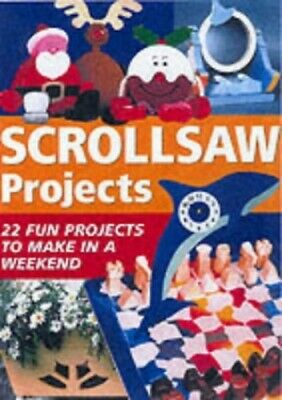 "Simple Scrollsaw Projects by ""The Scrollsaw"" Magazine Paperback Book The Fast"