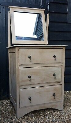 Small Painted Edwardian Dressing Chest