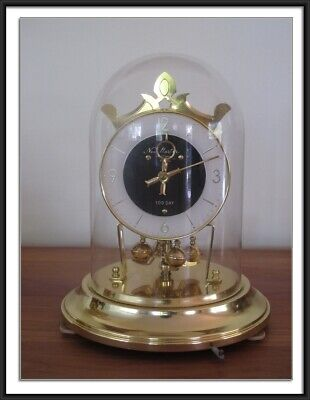 Vintage Japanese 100 Day Anniversary Clock –Running Perfectly
