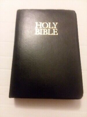 Holy Bible KJV King James Version With Helps Jesus Christ Red Letter Zondervan