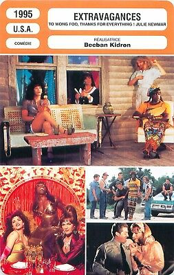 FICHE CINEMA USA EXTRAVAGANCES/TO WONG FOO, THANKS FOR EVERYTHING! Beeban Kidron