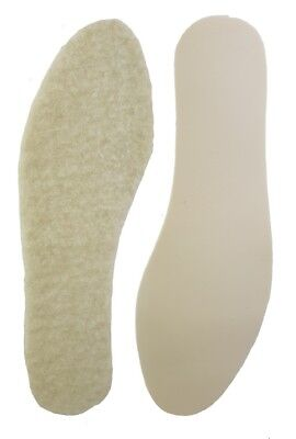 Thermal Latex foam Insoles 4 Pair Pack size UK 10-11 Euro 44-45