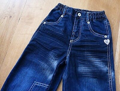 Girls Very Cool Navy Jeans by Baby Barb, Size 98 cm (3 yrs) Excellent Condition!