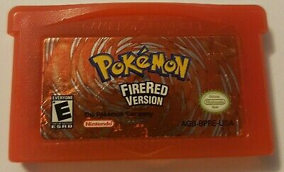 Pokemon: FireRed Version (Nintendo Game Boy Advance, 2004) - Authentic