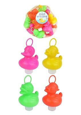 20 X Hook A Duck Coloured Duck Race Fairground, Floating, Weighted,Fundraiser
