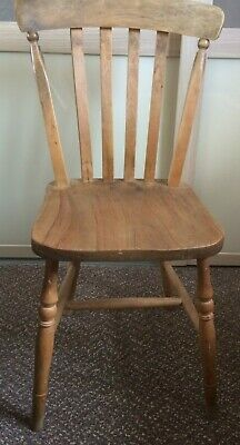 Vintage Elm Kitchen Chair