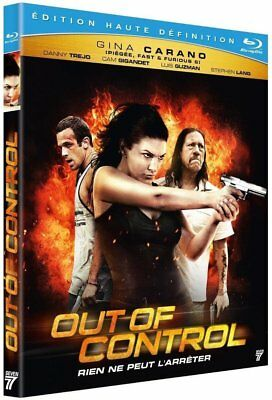 Blu-ray : OUT OF CONTROL  [ G. Carano, C. Gigandet, D. Trejo ]  NEUF cellophané
