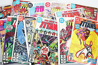 Dc Comics The New Teen Titans 13 Different Editions Collectors Bundle For Rspca