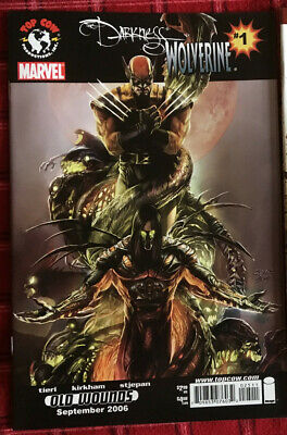 The Darkness/Wolverine Old Wounds #1  Marvel Top Cow 2006