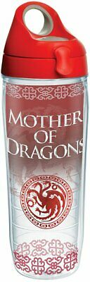 Game of Thrones Mother of Dragons novelty drinking glasses with Wrap & Lid,16 oz