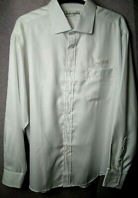 "Alexandra Workwear Mens White Hospitality Healthcare Cotton Regular Fit 17"" Lrg"