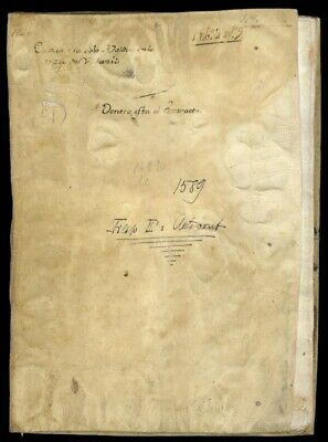 King Philip Ii (Spain) - Manuscript Signed 1589