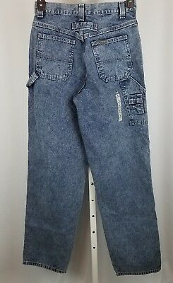 0b4ac4a26 Lee Vintage 90s Riveted Carpenter Jeans Stonewashed Made In USA Womens Size  6 M