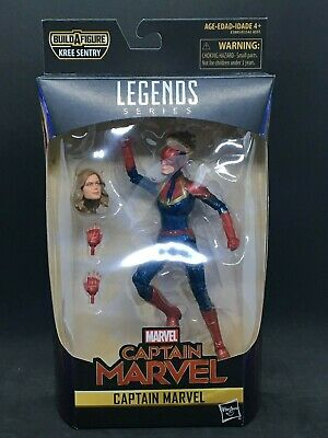 "Marvel Legends 6"" Captain Marvel Wave 1: Captain Marvel Figure (KREE SENTRY)"