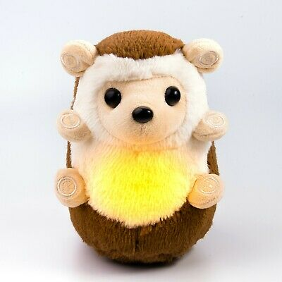 Hedgehog Night Light 6 Sleep Sound Machine, Baby Shower Gift New Mum Soft Toy