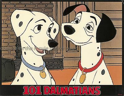 101 Dalmatians R1969 sealed US lobby card set
