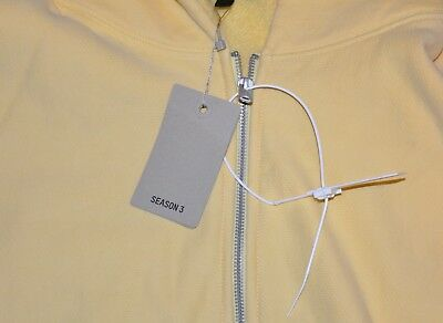 895a9a3a75daf YEEZY SEASON 3 ZIP UP HOODIE KANYE WEST ZIP Hoodie Yellow Size Large ...