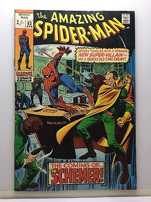 Marvel Comics The Amazing Spider-Man #83 The Coming Of The Schemer! April 1970