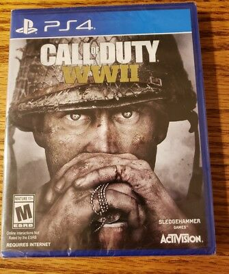 Call of Duty: WWII (Sony PlayStation 4, 2017) BRAND NEW