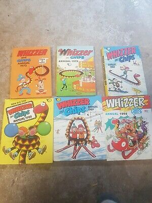 Whizzer And Chips Annual 1972-1992 Job Lot