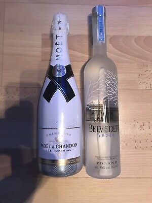 Moet Chandon Ice Imperial Champagner, Belvedere Vodka