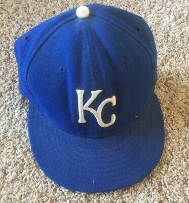 best loved d15ef 2c19d New Era Kansas City Royals GAME 59Fifty Fitted Hat (Royal Blue) MLB Cap