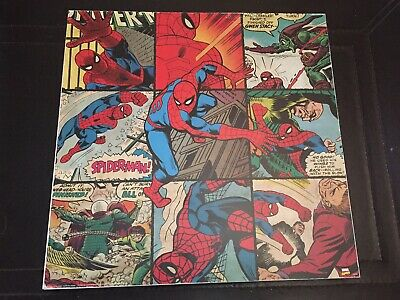 Spider-Man Picture And The Hulk 30mm Box Frame Marvel Comic Picture
