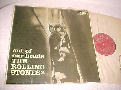"Rolling Stones""Out Of Our Heads""Originale Decca Inglese Con Ffrr 1965 Ex+ Lp"