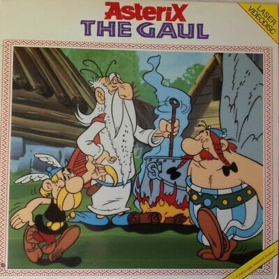 """ASTERIX """"THE GAUL""""- Laserdisc LD/ VERY GOOD CONDITION /VERY RARE (ANIMATION)"""