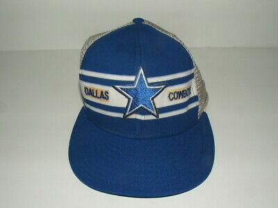 02b249699e5fb3 RARE VINTAGE 1980's DALLAS COWBOYS FOOTBALL NFL SNAPBACK HAT STAR STRIPES  by AJD