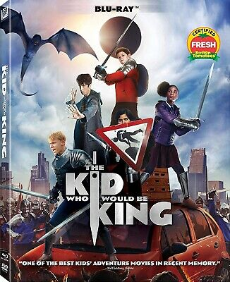 The Kid Who Would Be King (Blu-ray, 2019) w/ Case, Art, Slip - No DVD/Digital