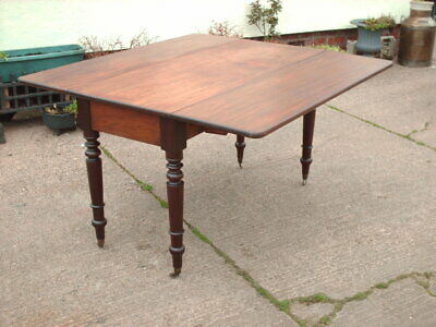 Large  Antique  Mahogany  Table