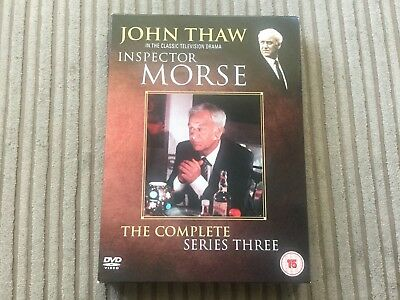 Inspector Morse - The Complete Series 3 Dvd John Thaw ITV