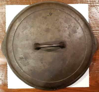 Griswold No. 9 Cast Iron Self Basting Lid 1099 A