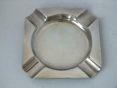 Chester 1922 Solid Sterling Silver Ash Tray/ L 8.7 cm/ 42 g