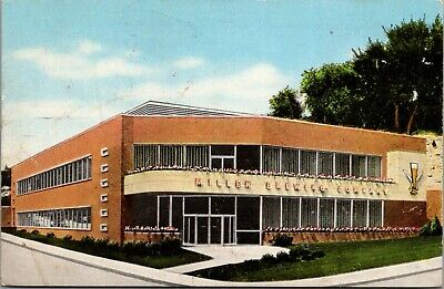 Milwaukee Wisconsin~Miller Brewing Company Offices~High Life Beer~1955 Postcard
