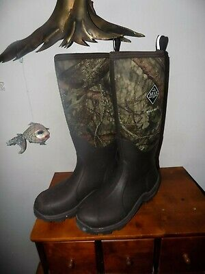 374cf4d6f3a Muck Woody Max Rubber Insulated Men s Hunting Boots MEN 10 WOMEN 11  EXCELLENT A+